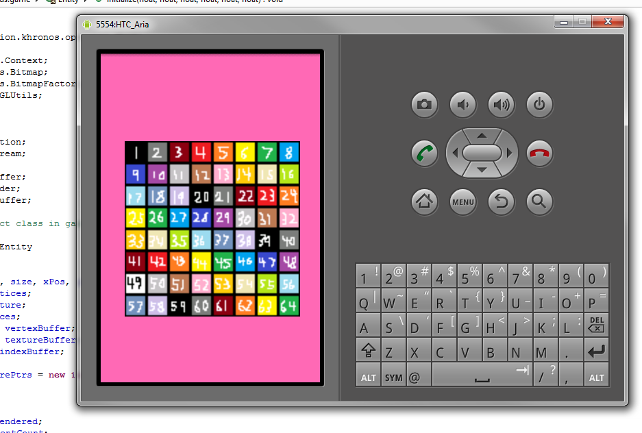 Android programming with OpenGL ES 1 0